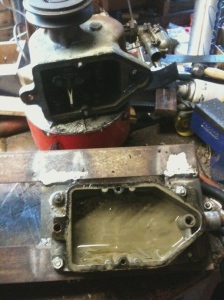 Suffolk engine sump